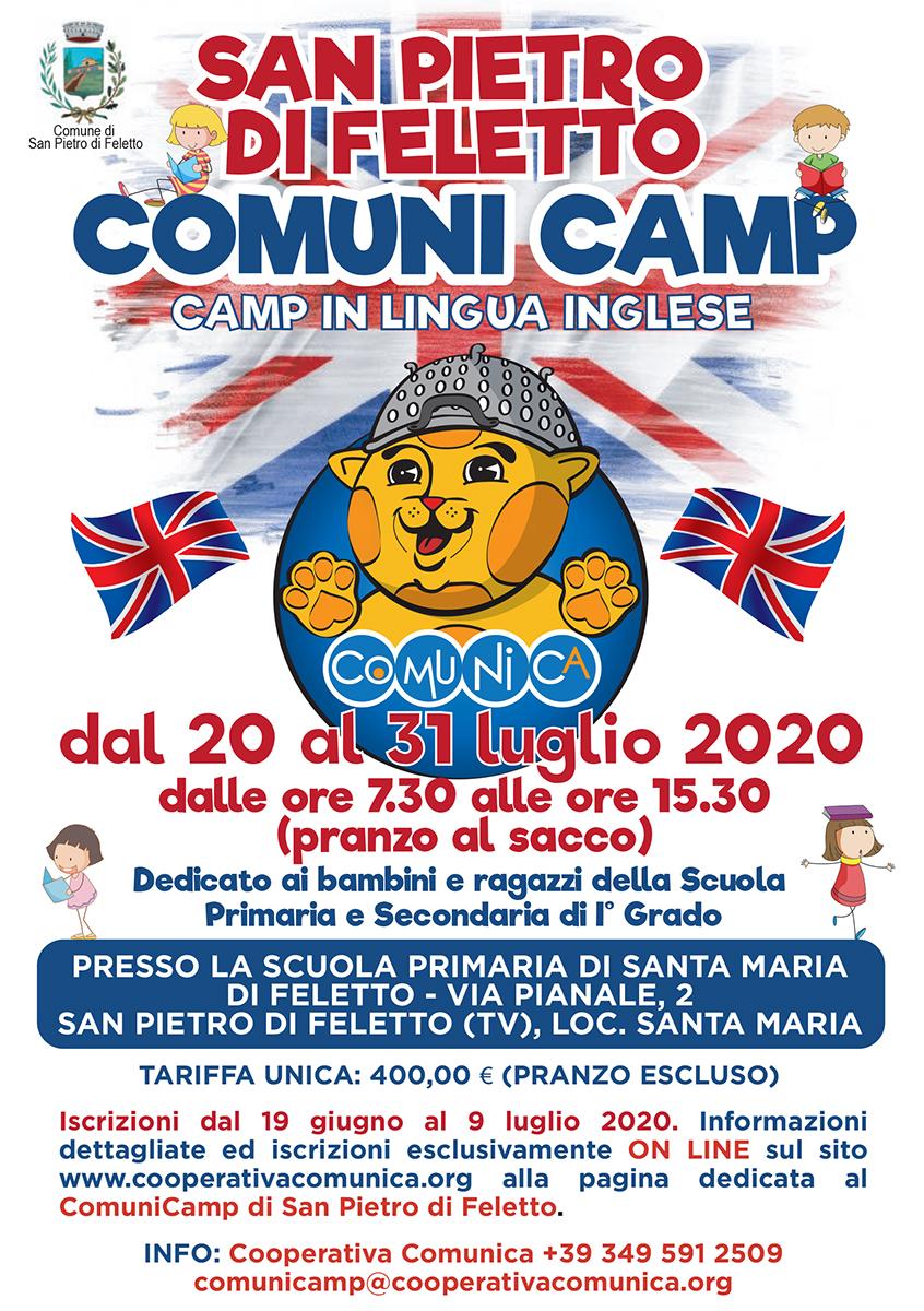 Volantino ComuniCamp San Pietro di Feletto 2020